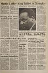 Montana Kaimin, April 5, 1968