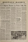 Montana Kaimin, April 12, 1968