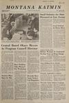 Montana Kaimin, April 25, 1968