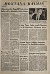 Montana Kaimin, May 2, 1968