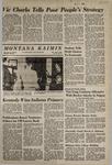 Montana Kaimin, May 8, 1968