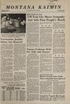 Montana Kaimin, May 21, 1968