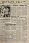 Montana Kaimin, October 15, 1968