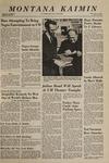 Montana Kaimin, October 18, 1968