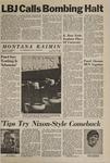 Montana Kaimin, November 1, 1968