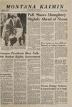 Montana Kaimin, November 5, 1968