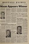 Montana Kaimin, November 6, 1968