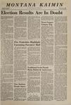 Montana Kaimin, November 8, 1968