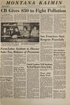 Montana Kaimin, November 21, 1968
