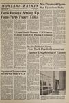 Montana Kaimin, December 3, 1968