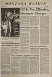 Montana Kaimin, December 5, 1968