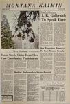 Montana Kaimin, December 10, 1968