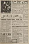 Montana Kaimin, January 21, 1969