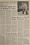 Montana Kaimin, January 23, 1969