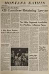 Montana Kaimin, January 30, 1969