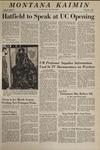 Montana Kaimin, February 7, 1969