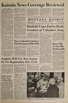 Montana Kaimin, February 11, 1969