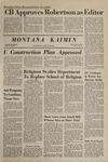 Montana Kaimin, February 20, 1969