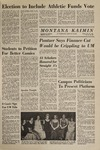 Montana Kaimin, February 27, 1969