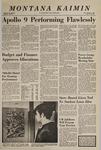 Montana Kaimin, March 4, 1969
