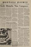 Montana Kaimin, March 7, 1969