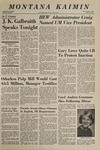 Montana Kaimin, April 3, 1969
