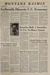 Montana Kaimin, April 4, 1969