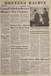 Montana Kaimin, April 22, 1969