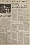 Montana Kaimin, April 23, 1969
