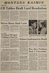 Montana Kaimin, April 24, 1969