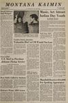 Montana Kaimin, April 30, 1969
