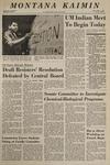 Montana Kaimin, May 1, 1969