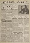 Montana Kaimin, May 8, 1969