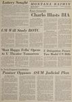 Montana Kaimin, May 14, 1969