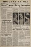 Montana Kaimin, May 15, 1969
