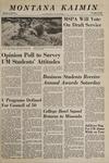 Montana Kaimin, May 20, 1969