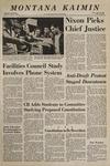 Montana Kaimin, May 22, 1969