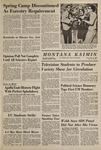Montana Kaimin, May 27, 1969
