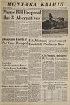 Montana Kaimin, May 29, 1969