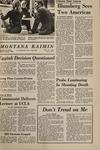 Montana Kaimin, October 7, 1969