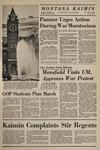 Montana Kaimin, October 14, 1969