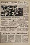 Montana Kaimin, November 12, 1969