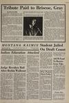 Montana Kaimin, November 13, 1969