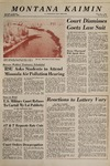 Montana Kaimin, December 3, 1969