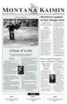 Montana Kaimin, January 28, 2003