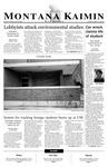Montana Kaimin, January 29, 2003