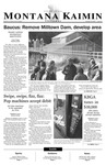 Montana Kaimin, February 20, 2003