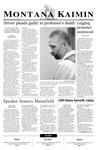 Montana Kaimin, March 19, 2003