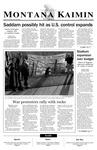 Montana Kaimin, March 21, 2003