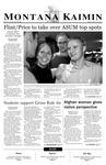 Montana Kaimin, April 25, 2003